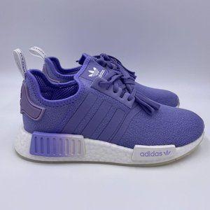 adidas NMD R1 White / Light Purple Womens Shoes